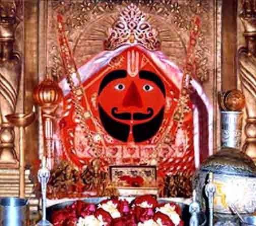 सालासर बालाजी हनुमान मंदिर, सालासर, राजस्थान (Salasar Balaji Hanuman Mandir, Salasar, Rajasthan)