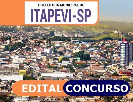 Edital e Inscrição Concurso da Prefeitura de Itapevi {SP}