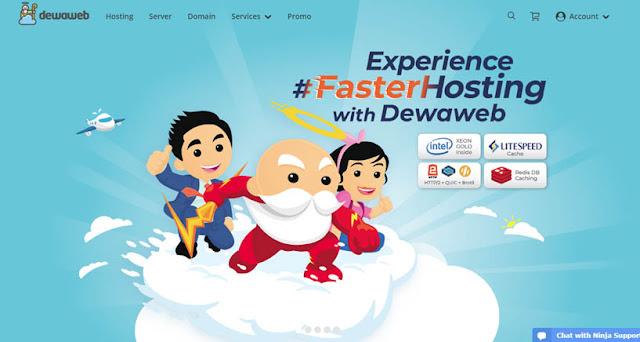 Dewaweb - Daftar Web Hosting Terbaik Di Indonesia 2018