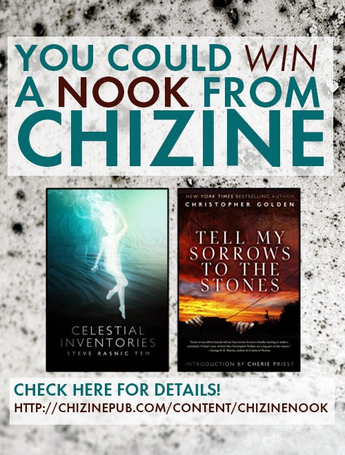 You Could Win a NOOK from ChiZine Publications!