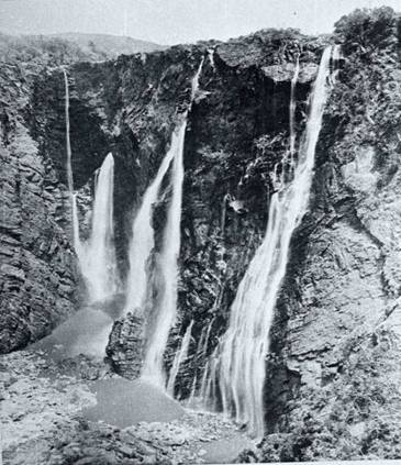 The Majestic Jog Falls - Year 1948
