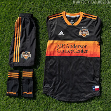 newest collection f09f5 107ca Houston Dynamo 2019 Home Kit Revealed - Footy Headlines