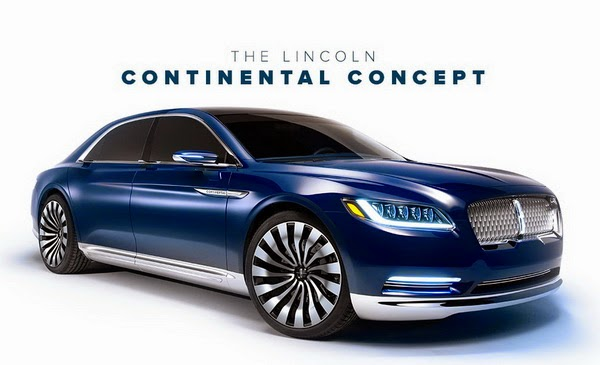 Lincoln Continental Concept Luxury Car