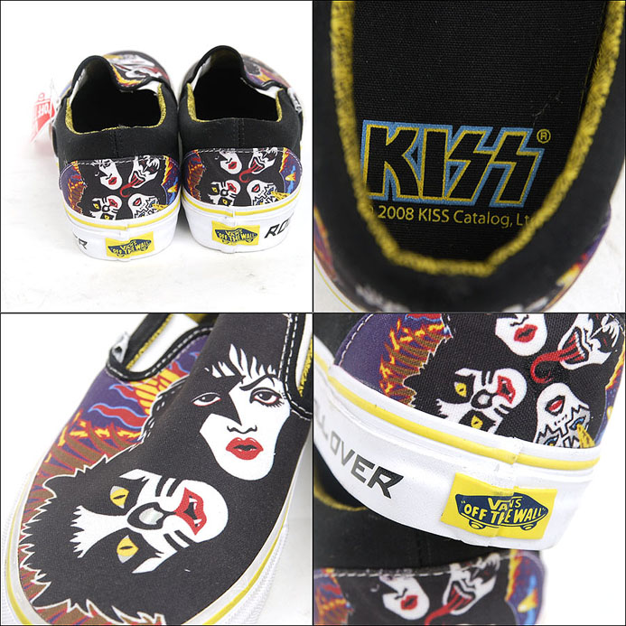 Kiss Vans Shoes