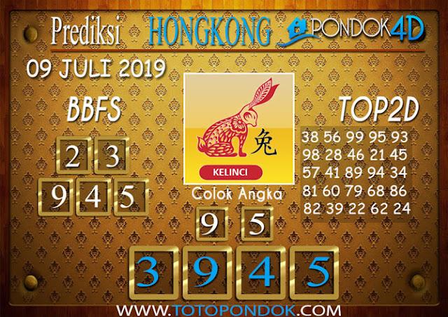Prediksi Togel HONGKONG PONDOK4D 09 JULI 2019