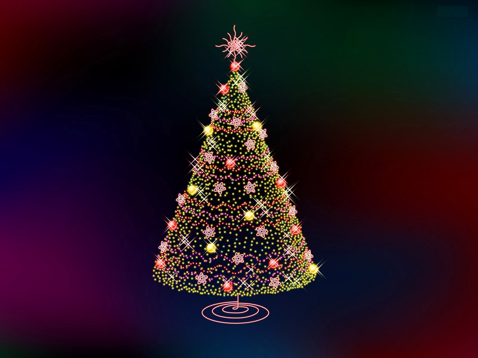 Christmas Trees HD Wallpapers Free Download