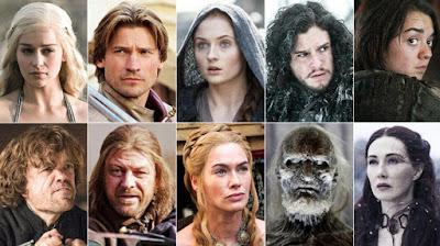 Los personajes principales son muchos