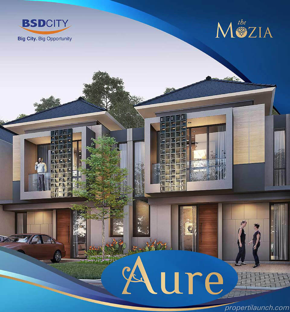 Rumah Aure at The Mozia BSD