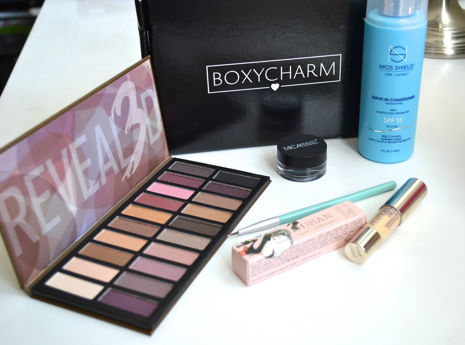 aquaheart what s inside boxycharm august 2015