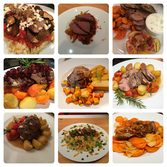 entries into the mini-roast cook-off competition with Red Tractor Beef and Lamb