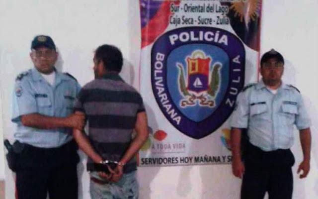 Policía del Zulia detuvo a Rambo por mostrar sus partes íntimas en público