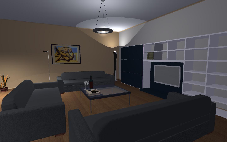 progettazione interni 3d gratis