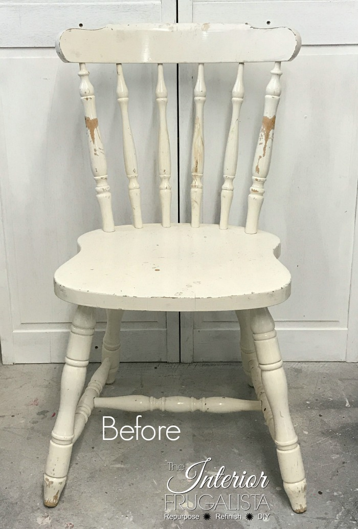 An easy way to paint wooden chair spindles when you don't have access to a paint sprayer or paint indoors. Plus helpful tips, useful products, and more.
