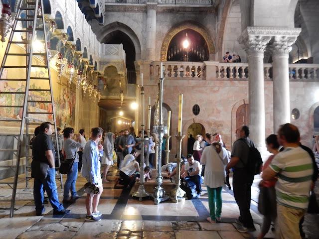 Santo Sepulcro, Jerusalem, Israel, Elisa N, Blog de Viajes