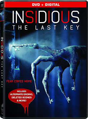 Insidious: The Last Key DVD