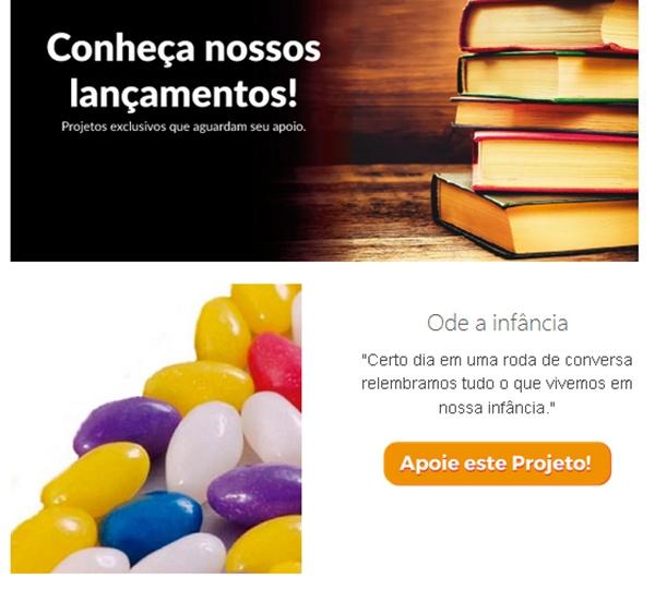 Bookstart, livros, financiamento-coletivo