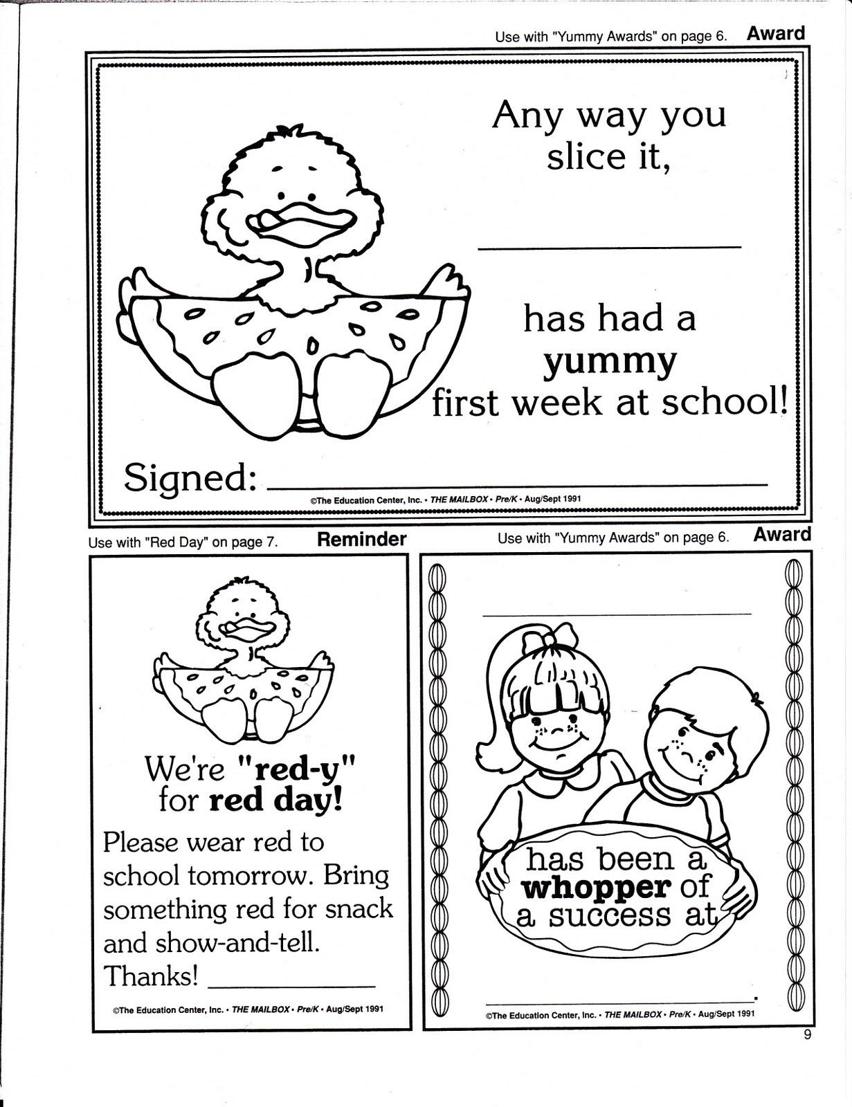 Teacher S Market First Days Of School Printables