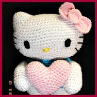 kitty angel amigurumi