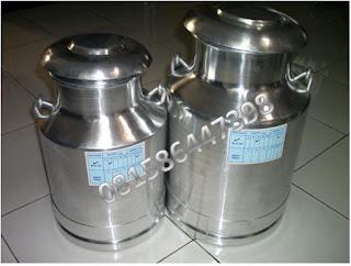 Milkcan Alumunium
