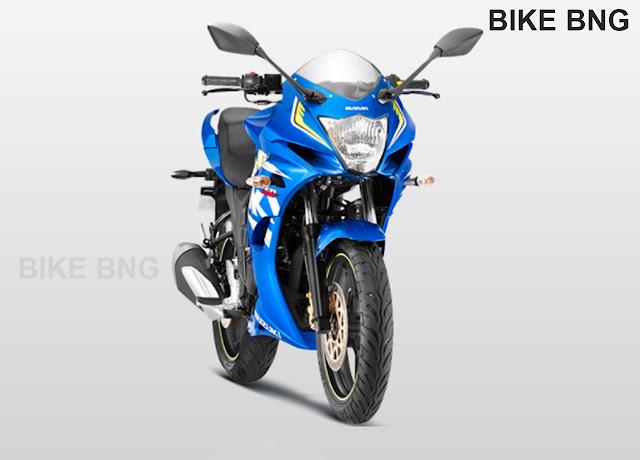 Suzuki Gixxer SF 2017 blue price