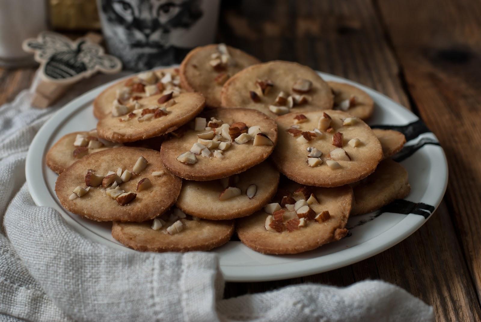 Kruche ciasteczka bez cukru