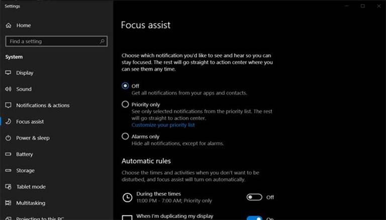 Notifikasi Windows 10 Tidak Akan Mengganggu Anda Ketika Menonton Film