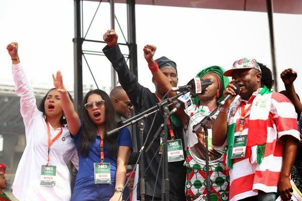 nollywood stars campaign jonathan