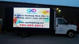 Mobile digital billboard trucks for sale