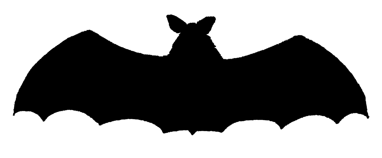 scary halloween bat silhouette images png