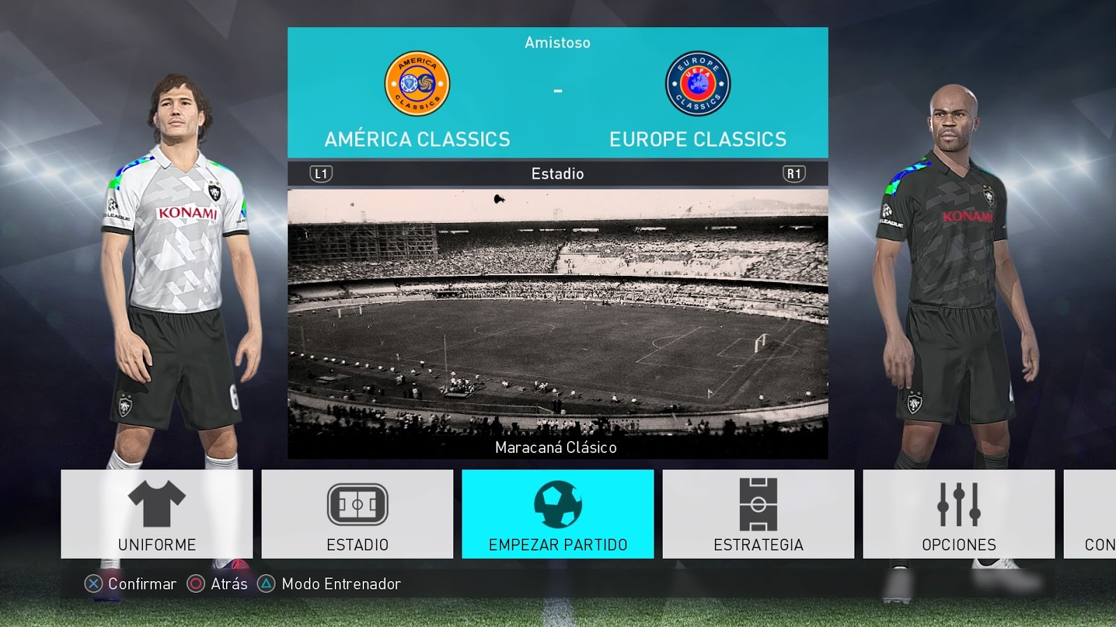 PES 2018 PS4 Classic Option File v1 5 by DieegoXD ~ PESNewupdate com