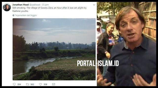 """KESAKSIAN Wartawan BBC Mentahkan Tuduhan HOAX Suu Kyi: """"Saya melihat desa Muslim sengaja dibakar"""""""