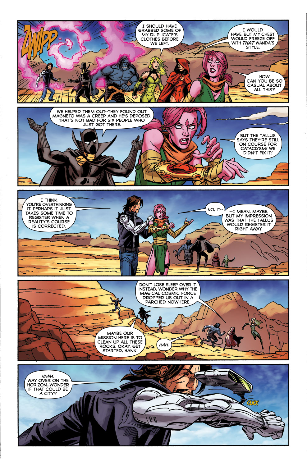 Read online Exiles (2009) comic -  Issue #3 - 21