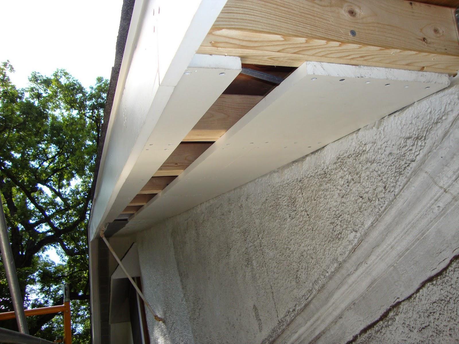 Old House Renovation Methods Roof Overhang Soffit