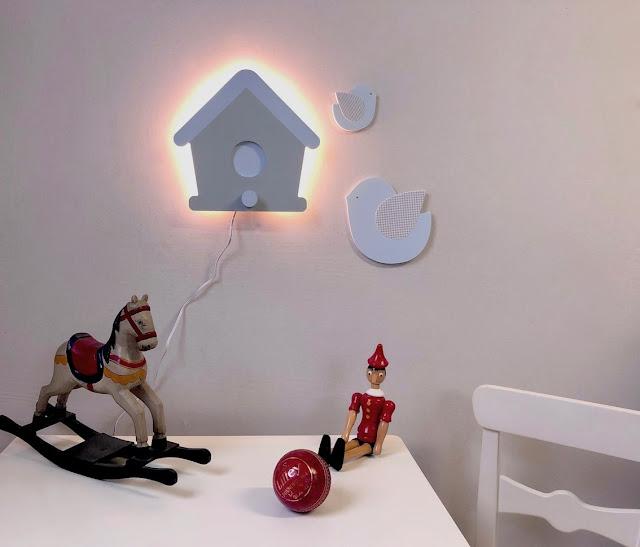 APLIQUES con luz led , para la pared