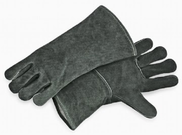 FULL LEATHER WELDING GLOVES