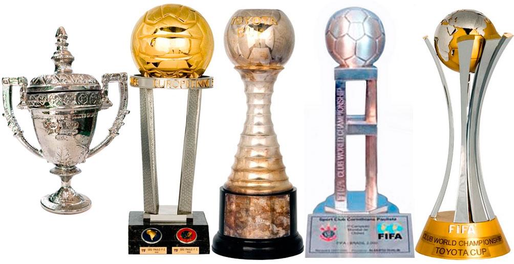 Mundial de Clubes   Lista de Campeões   McNish Futebol Clube