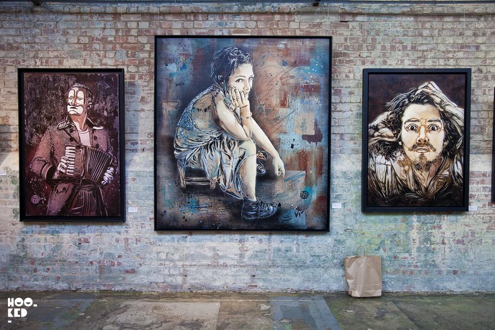 C215 - UK Street Art Exhibition