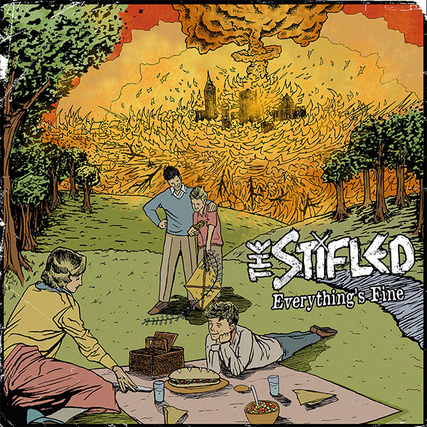 "The Stifled stream new EP ""Everything's Fine"""