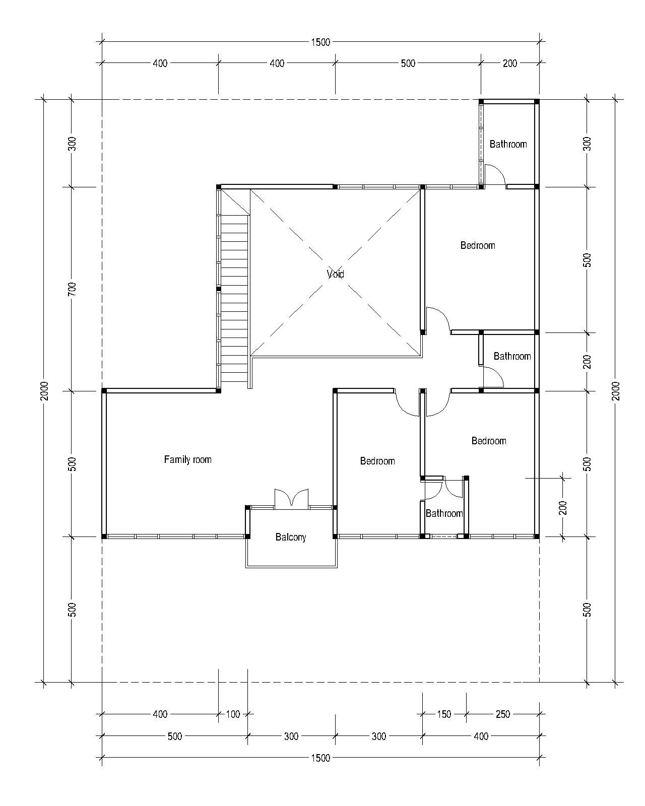 2nd Floor Plan For Plan C 10