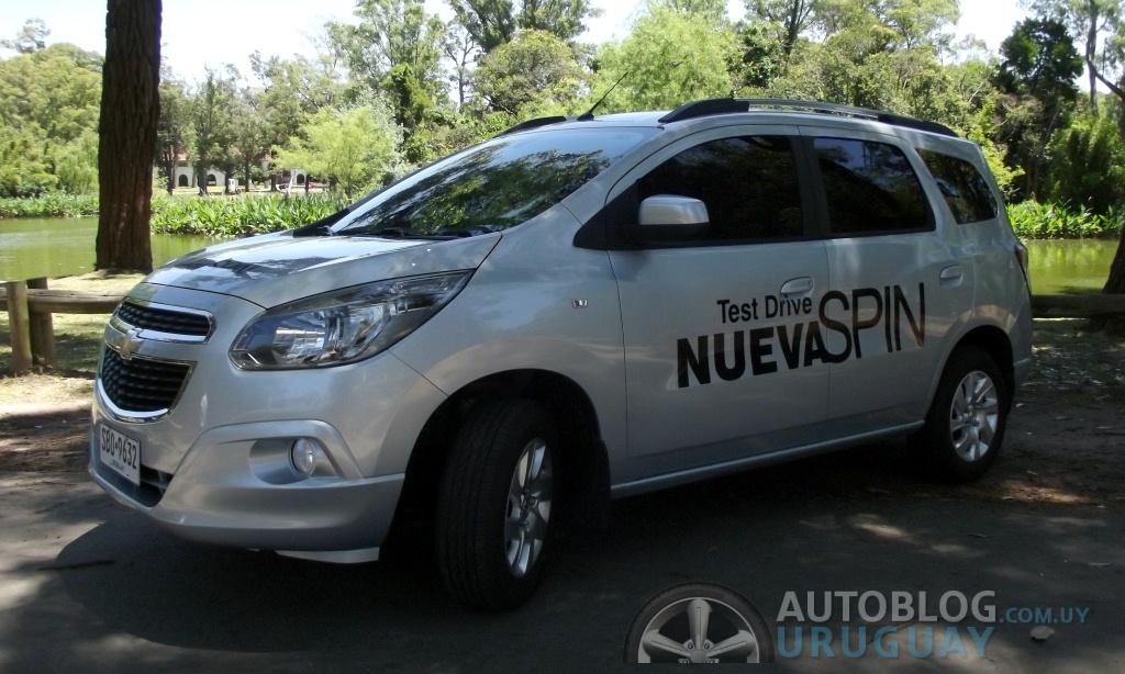 Prueba Chevrolet Spin Ltz At6 Parte 1 Autoblog Uruguay
