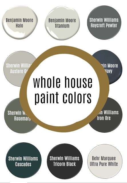 Neutral and Modern Paint Colors