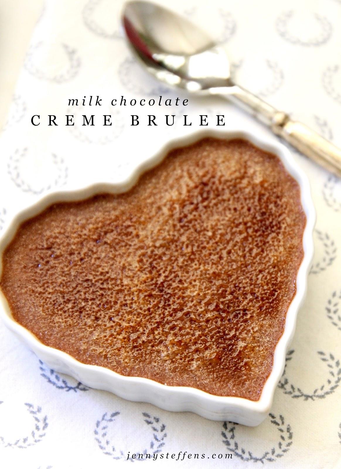 Jenny Steffens Hobick: Milk Chocolate Creme Brûlée | Valentines ...