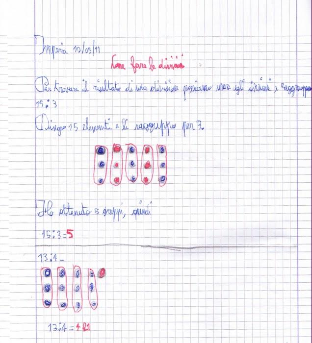 abbastanza didattica matematica scuola primaria: Calcoliamo: la divisione  HQ61