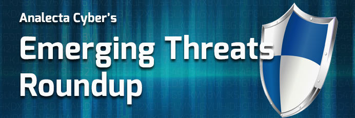 Emergy threats round up banner - Analecta LLC