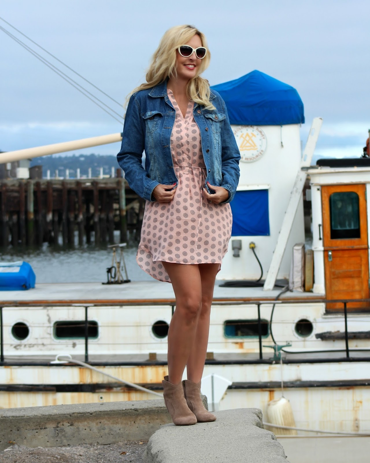 San Francisco Bay Style: High Low Sleeveless Dress