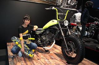 Honda Rebel 250cc x Fwskate shop 街乗りクルーザースケートボード