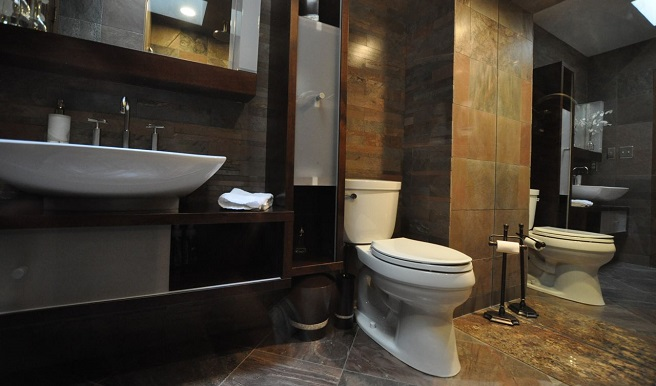 60 ideas de diseño moderno de baños pequeños