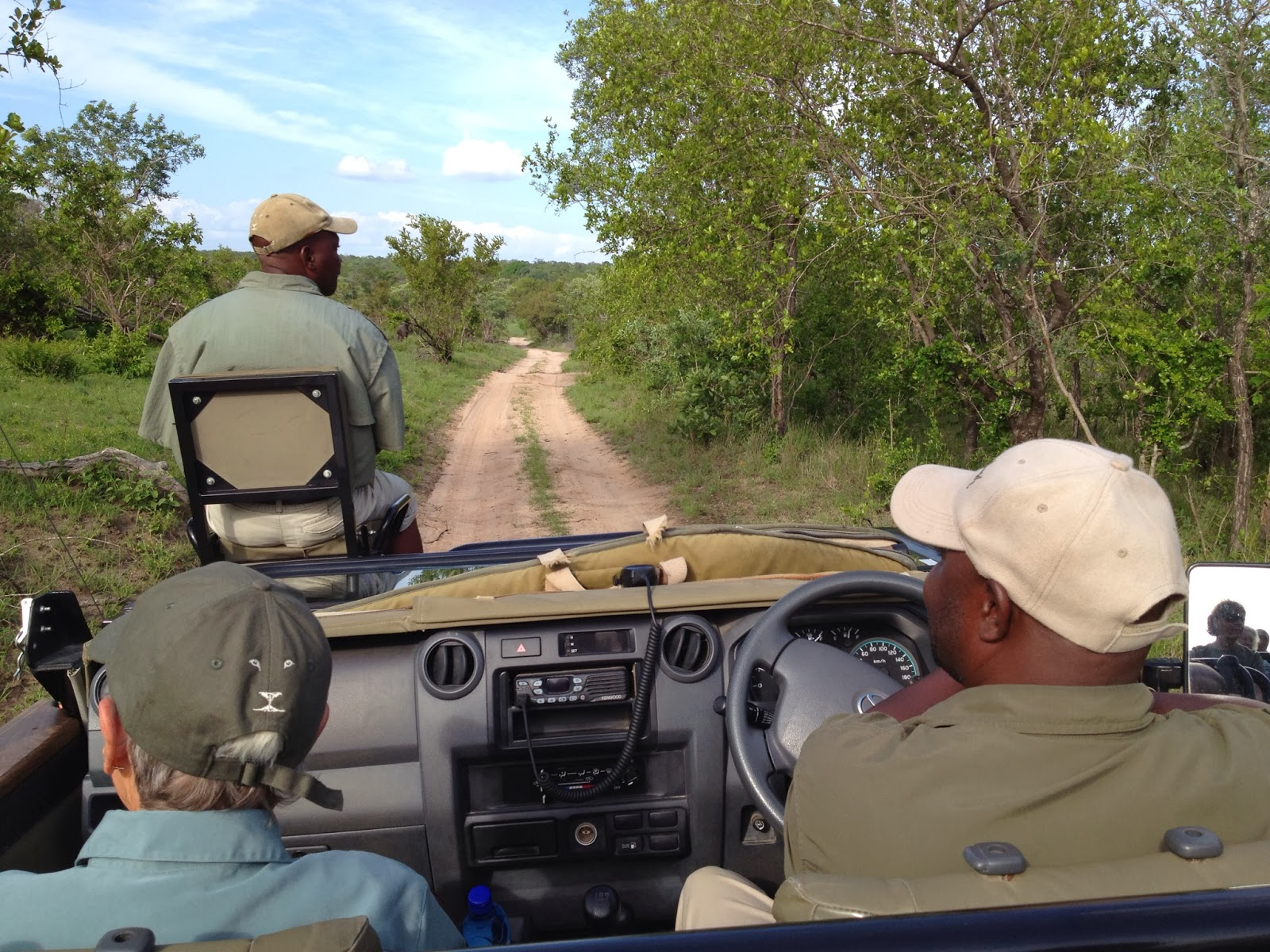 Sabi Sands - Heading out on our first game drive