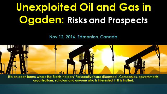 Oil Rich Ogaden: Ogaden Oil and Gas: An Open Forum