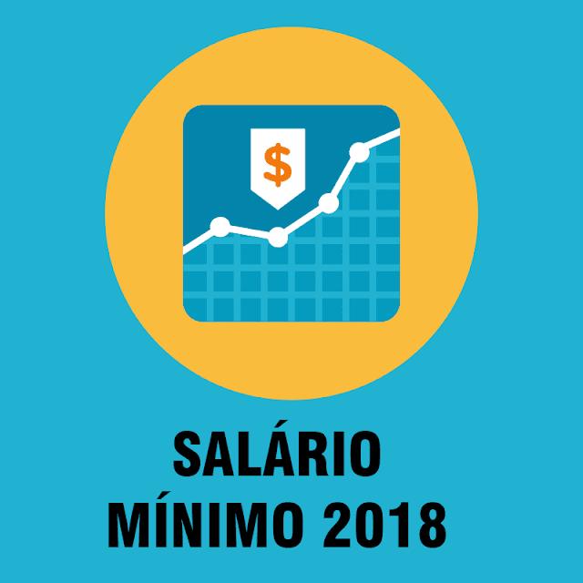 Salário mínimo 2018